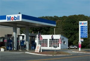 Our Mobil gas station offers full service, all grades of fuel, diesel, clear kero, and propane cylinders filled.